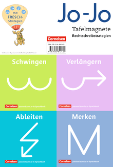 Jo-Jo Sprachbuch - Tafelmagnete Rechtschreibstrategien - 2.-4. Schuljahr