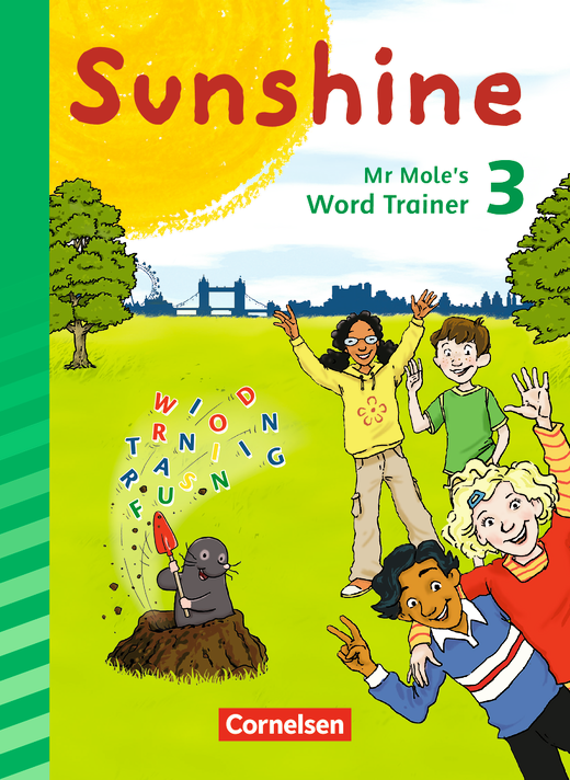Sunshine - Mr Mole's Word Trainer - 3. Schuljahr