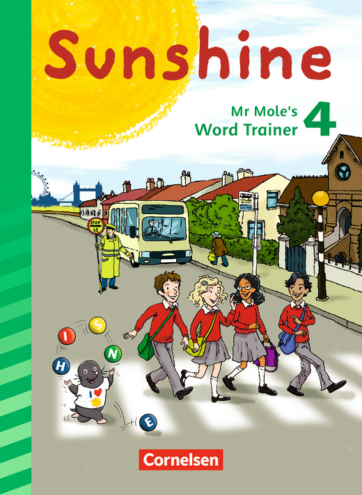Sunshine - Mr Mole's Word Trainer - 4. Schuljahr