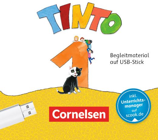 Tinto 1 - Begleitmaterial auf USB-Stick - 1. Schuljahr