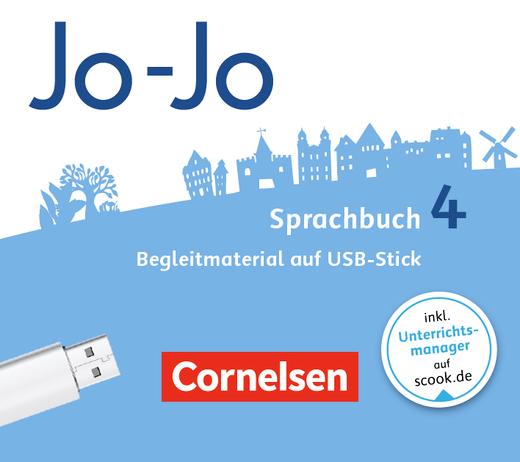 Jo-Jo Sprachbuch - Begleitmaterial auf USB-Stick - 4. Schuljahr