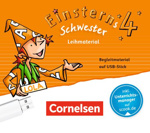 Einsterns Schwester - Begleitmaterial auf USB-Stick - Leihmaterial - 4. Schuljahr