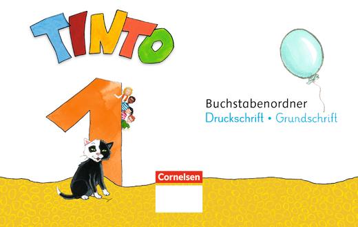 Tinto 1 - Prüfpaket mit Buchstabenordner Druckschrift - 1. Schuljahr