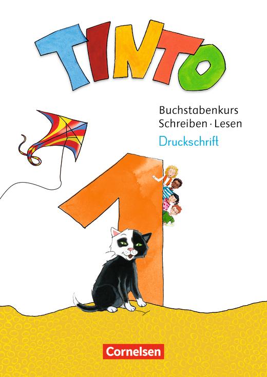 Tinto 1 - Produktpaket mit Buchstabenkurs Druckschrift - 1. Schuljahr