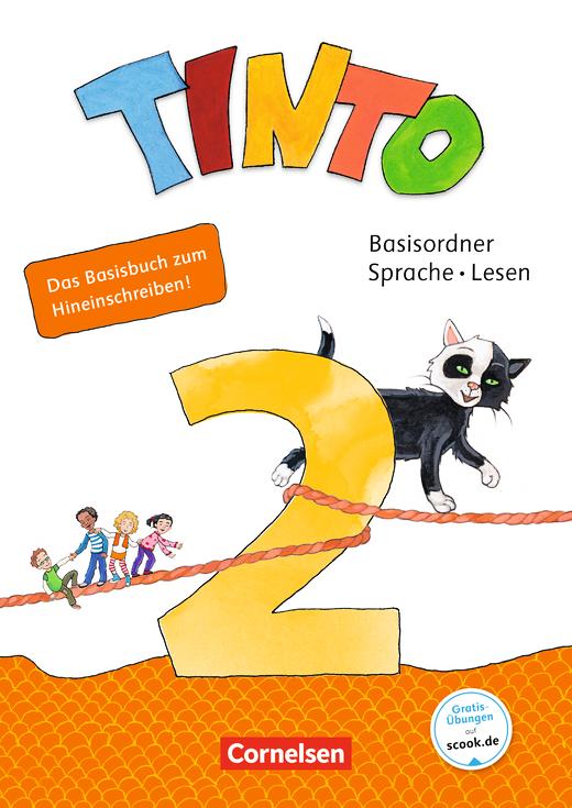 Tinto Sprachlesebuch 2-4 - Lösungen zum Basisordner Sprache und Lesen als Download - 2. Schuljahr