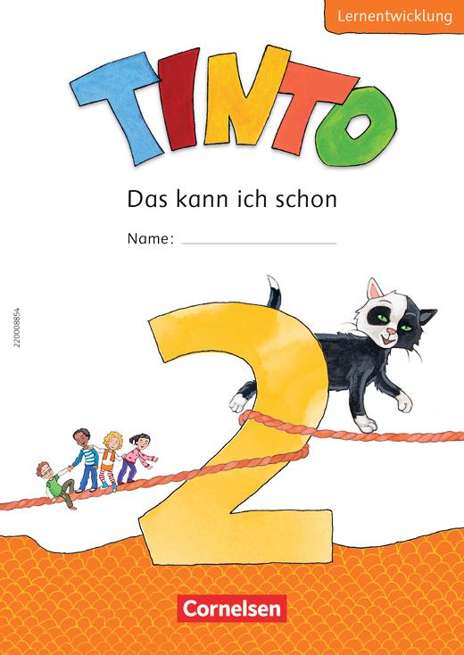 Tinto Sprachlesebuch 2-4 - Lernentwicklungsheft - 2. Schuljahr