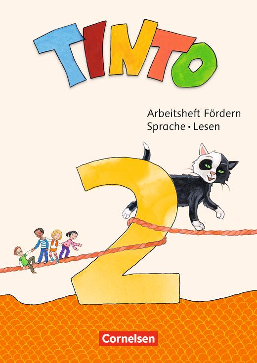 Tinto Sprachlesebuch 2-4 - Arbeitsheft Fördern - Sprache und Lesen - 2. Schuljahr