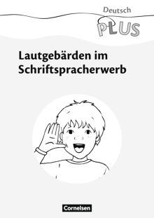 Deutsch plus - Grundschule - Lautgebärden - Download