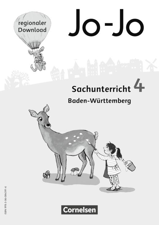 Jo-Jo Sachunterricht - Regionalseiten Baden-Württemberg als Download - 4. Schuljahr