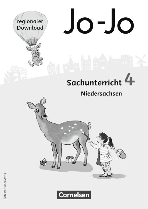Jo-Jo Sachunterricht - Regionalseiten Niedersachsen als Download - 4. Schuljahr