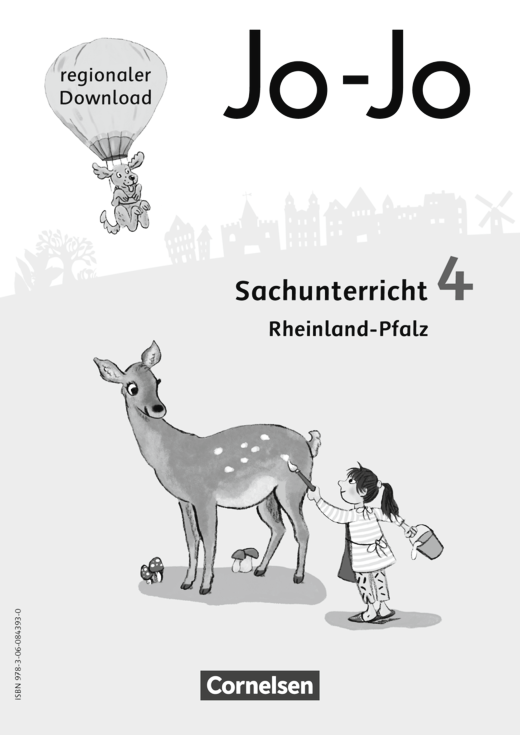 Jo-Jo Sachunterricht - Regionalseiten Rheinland-Pfalz als Download - 4. Schuljahr