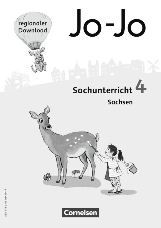 Jo-Jo Sachunterricht - Regionalseiten Sachsen als Download - 4. Schuljahr