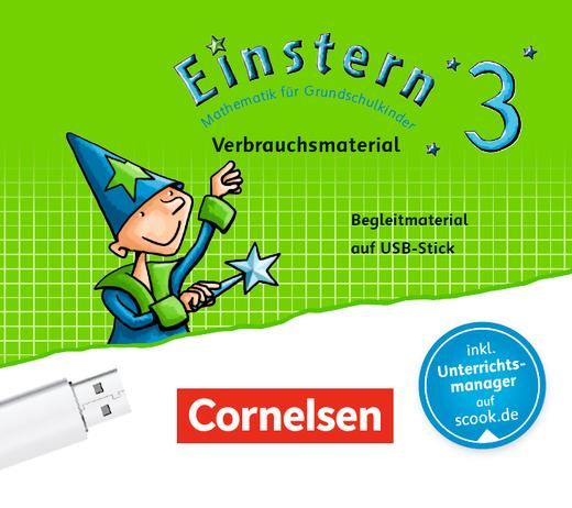 Einstern - Begleitmaterial auf USB-Stick - Verbrauchsmaterial - Band 3