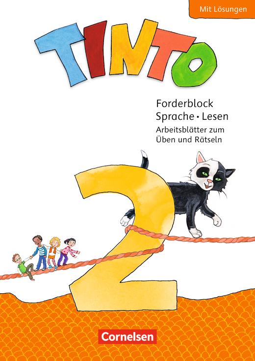 Tinto Sprachlesebuch 2-4 - Forderblock Sprache und Lesen - 2. Schuljahr