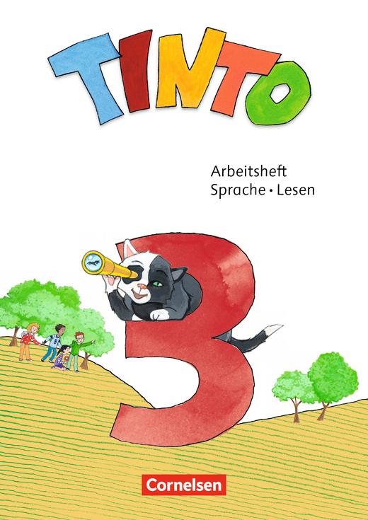 Tinto Sprachlesebuch 2-4 - Arbeitsheft Sprache und Lesen - 3. Schuljahr