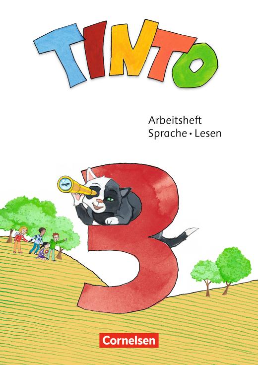 Tinto Sprachlesebuch 2-4 - Lösungen zum Arbeitsheft Sprache und Lesen als Download - 3. Schuljahr