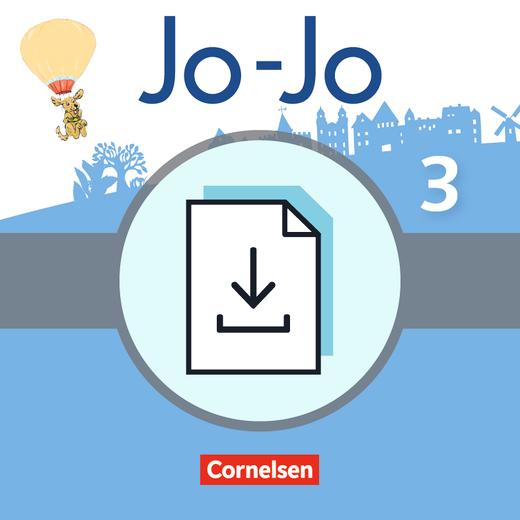 Jo-Jo Sprachbuch - Lernkontrollen mit Lösungen und Auswertungsbögen als Download - 3. Schuljahr