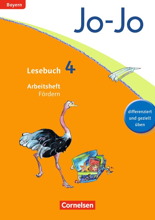 Jo-Jo Lesebuch - Arbeitsheft Fördern - 4. Jahrgangsstufe