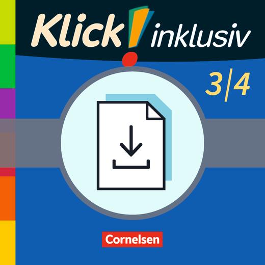 Klick! inklusiv - Grundschule / Förderschule - Kopiervorlagen zu den Themenheften 7-12 als Download - 3./4. Schuljahr