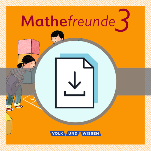Mathefreunde - Lösungen zum Arbeitsheft Fördern als Download - 3. Schuljahr
