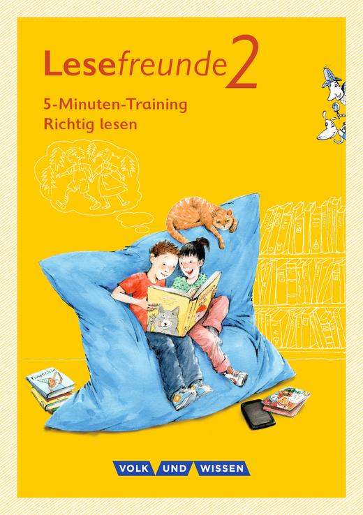 """Lesefreunde - 5-Minuten-Training """"Richtig lesen"""" - Arbeitsheft - 2. Schuljahr"""
