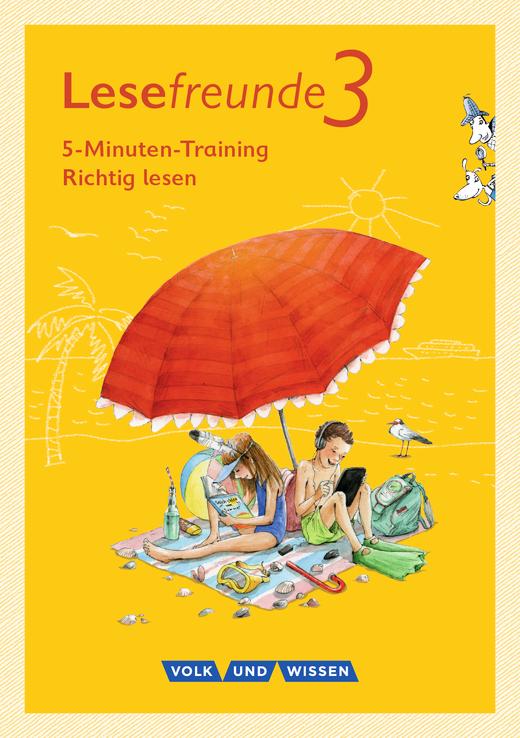 """Lesefreunde - 5-Minuten-Training """"Richtig lesen"""" - Arbeitsheft - 3. Schuljahr"""