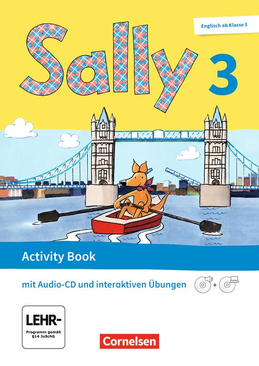 Sally - Activity Book mit interaktiven Übungen auf scook.de - 3. Schuljahr