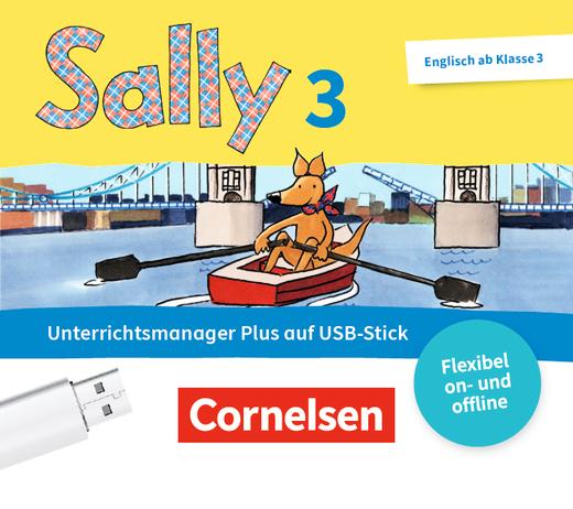 Sally - Begleitmaterial auf USB-Stick - 3. Schuljahr