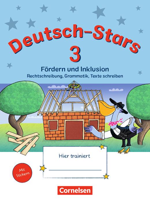Deutsch-Stars - Fördern und Inklusion - Übungsheft - 3. Schuljahr