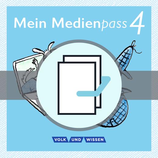 Sprachfreunde - Mein Medienpass - Arbeitsheft Medienkompetenz - 4. Schuljahr