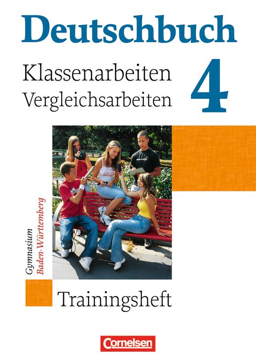 Deutschbuch Gymnasium - Klassenarbeitstrainer mit Lösungen - Band 4: 8. Schuljahr