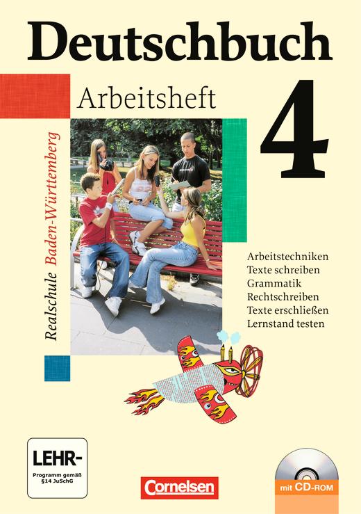 Deutschbuch - Arbeitsheft mit Lösungen und Übungs-CD-ROM - Band 4: 8. Schuljahr