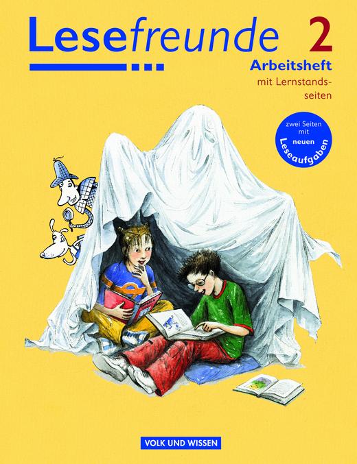 Lesefreunde - Arbeitsheft mit Lernstandsseiten - 2. Schuljahr