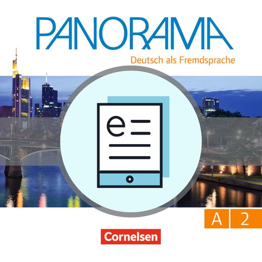 Panorama - Kursbuch als E-Book - A2: Gesamtband
