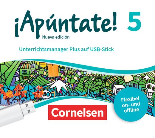 ¡Apúntate! - Unterrichtsmanager Plus auf USB-Stick - Band 5