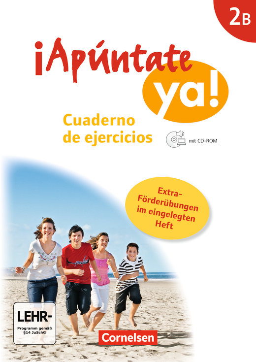 ¡Apúntate! - Cuaderno de ejercicios mit CD-Extra mit eingelegtem Förderheft - Band 2B