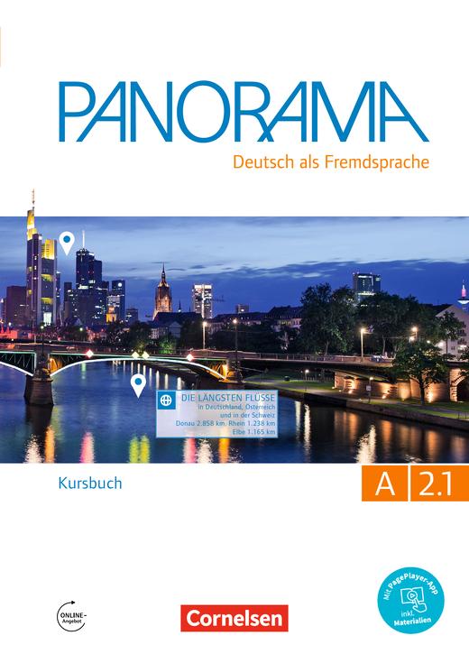 Panorama - Kursbuch - A2: Teilband 1