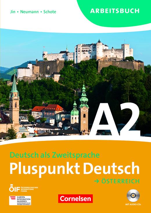 Pluspunkt Deutsch - Arbeitsbuch mit Lösungsbeileger und Audio-CDs - A2: Gesamtband