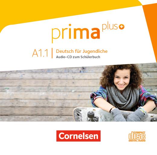 Prima plus - Audio-CD zum Schülerbuch - A1: Band 1