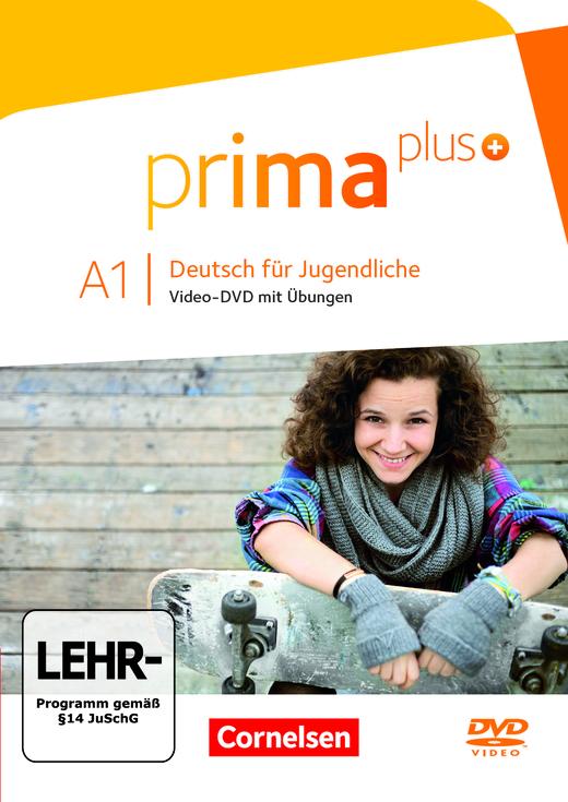 Prima plus - Video-DVD mit Übungen - A1: zu Band 1 und 2