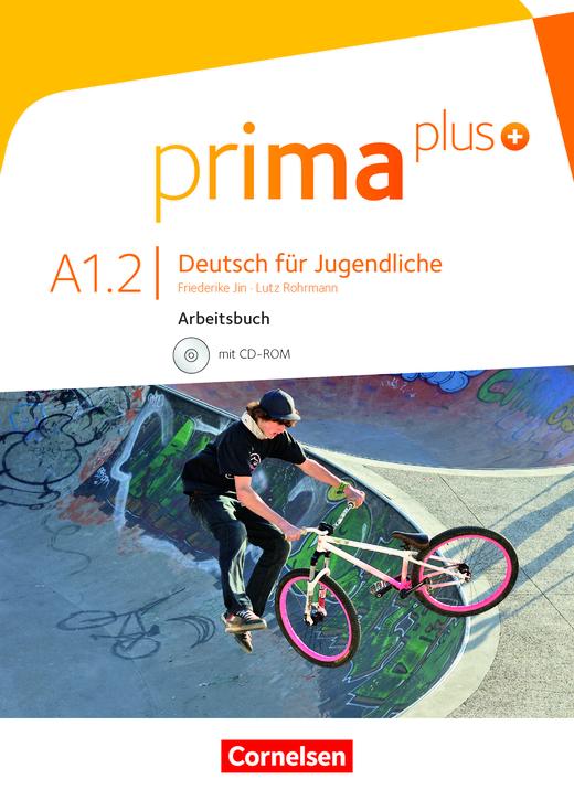 Prima plus - Arbeitsbuch mit CD-ROM - A1: Band 2
