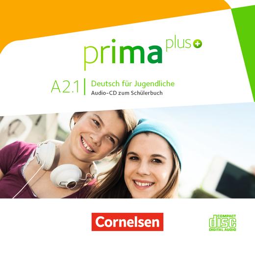 Prima plus - Audio-CD zum Schülerbuch - A2: Band 1