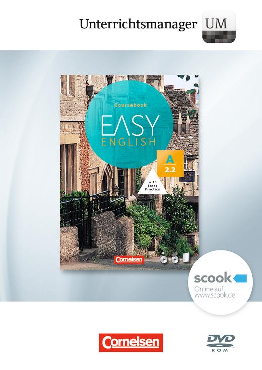 Easy English - Unterrichtsmanager - Vollversion auf DVD-ROM - A2: Band 2