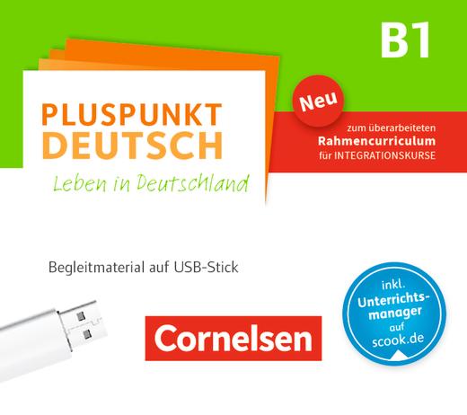 Pluspunkt Deutsch - Leben in Deutschland - Begleitmaterial auf USB-Stick (2. Ausgabe) - B1: Gesamtband
