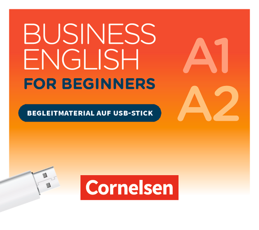 Business English for Beginners - Begleitmaterial auf USB-Stick - A1/A2