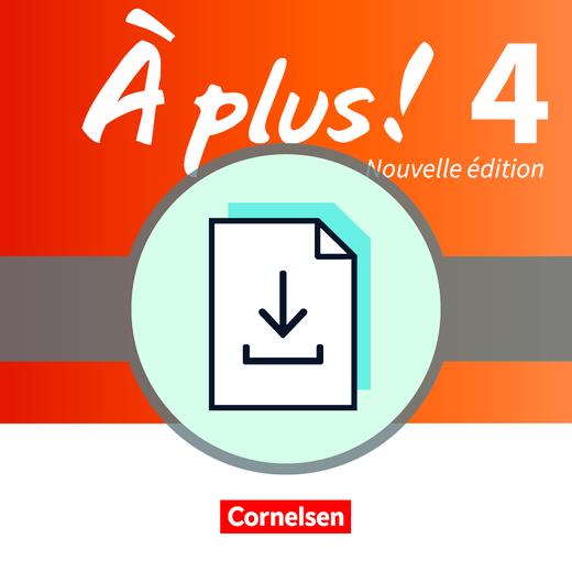 À plus ! - Folien mit Unterrichtskommentar als Download - Band 4