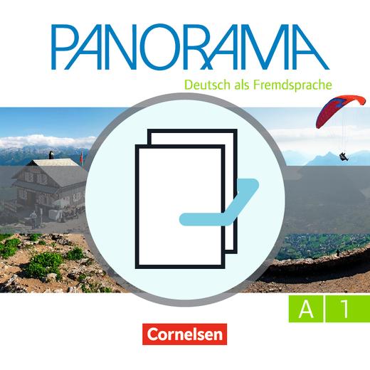 Panorama - Kursbuch und Übungsbuch DaZ - A1: Gesamtband