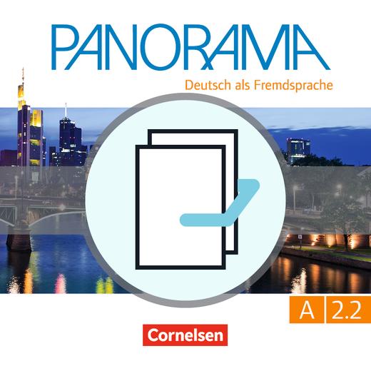 Panorama - Kursbuch und Übungsbuch DaZ - A2: Teilband 2