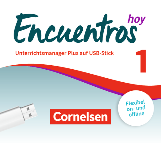 Encuentros - Unterrichtsmanager Plus auf USB-Stick - Band 1