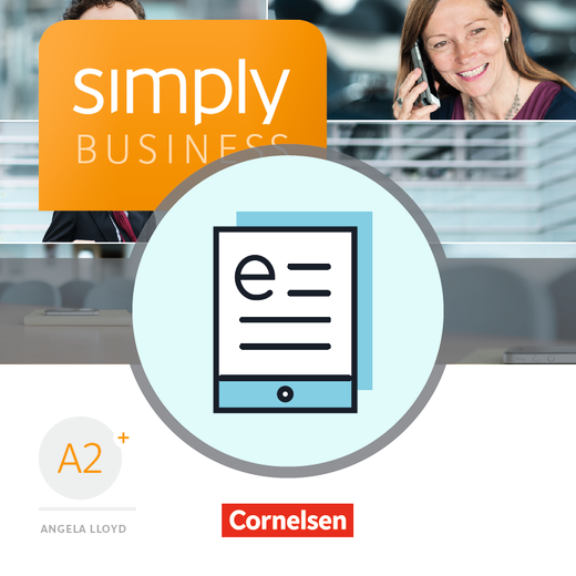 Simply Business - Coursebook als E-Book - A2+